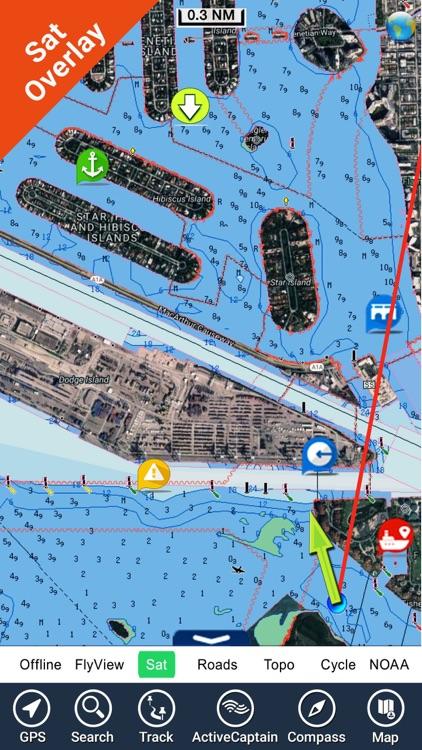 Boating New Caledonia HD chart screenshot-6