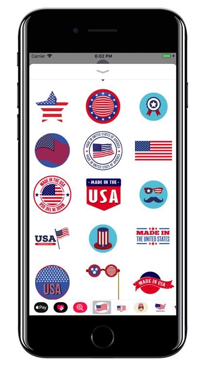 USA - American stickers