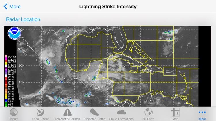 Hurricane Track - Radar and Tropical Storm Tracker