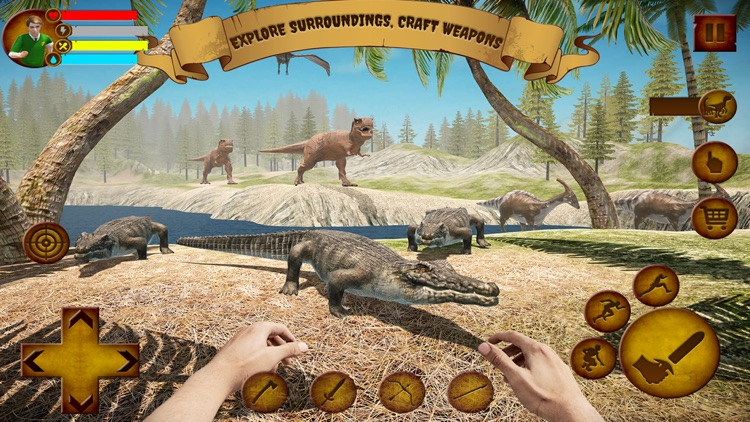 Ark Survival escape Dino Hunt