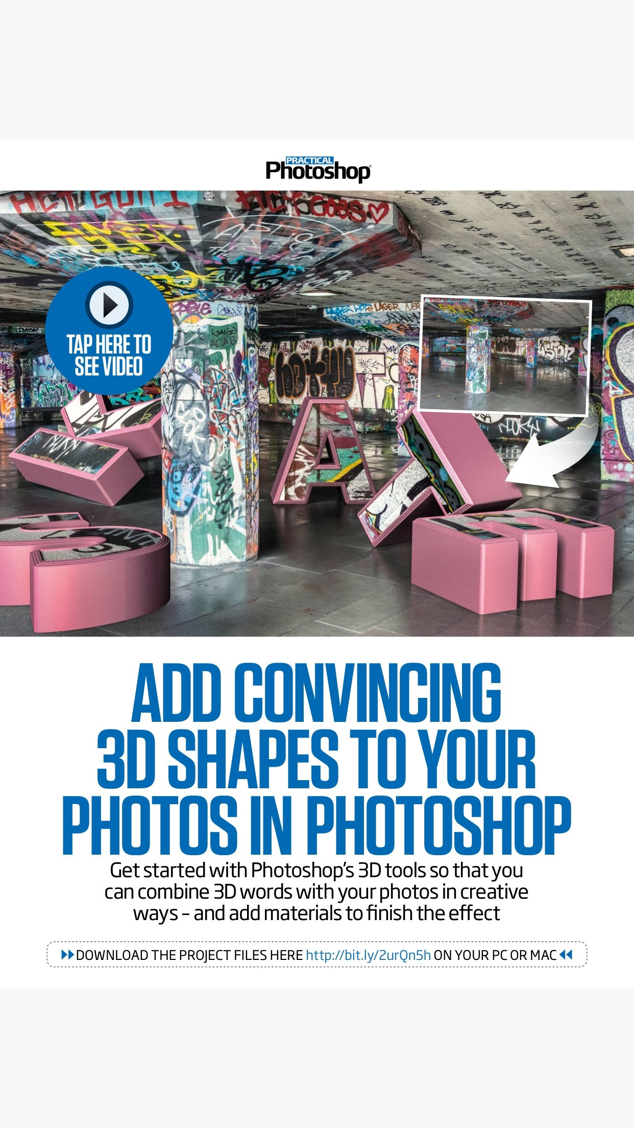 Practical Photoshop: the Adobe Photoshop magazine Screenshot
