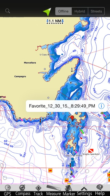Corsica GPS Nautical Charts screenshot-3