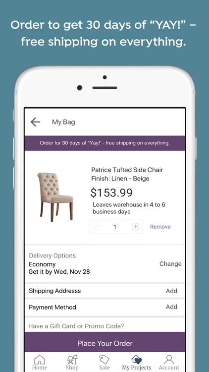 Joss & Main: Furniture + Decor screenshot-6