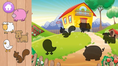 Toddler Animal Puzzle Learning Game Screenshot