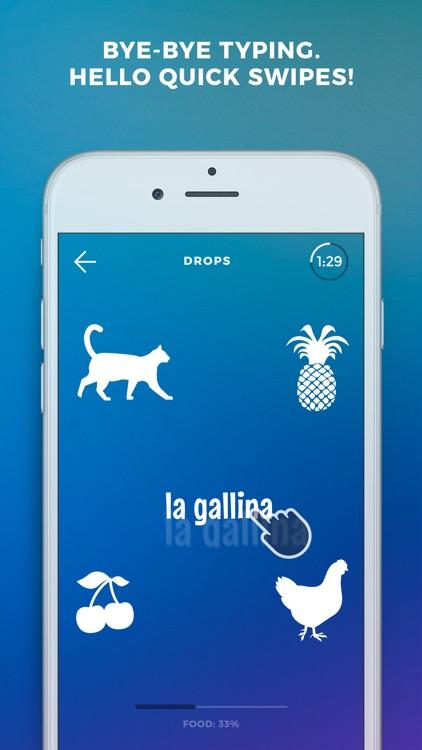 Learn Italian language - Drops