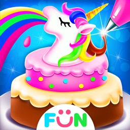 Unicorn Food-Cake Bakery Games