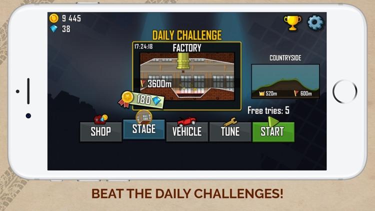 Hill Climb Racing screenshot-4