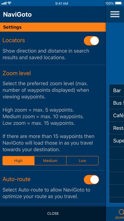 NaviGoto - Simple Navigation screenshot-8
