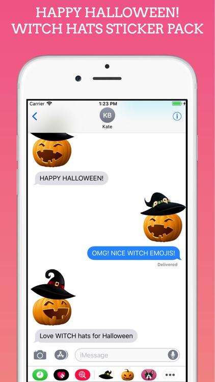 Witch Moji Halloween Stickers