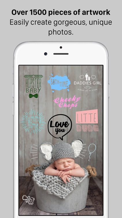 Baby Milestones - Photo Editor screenshot-2