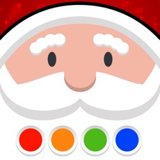Activities of Coloring Your Santa