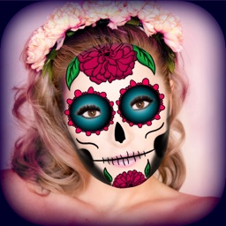 Mexican Sugar Skull Mask