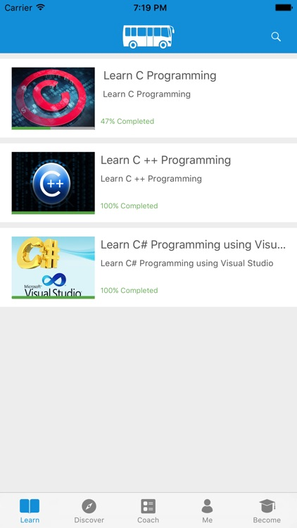 Learn C, Cpp & C# Programming
