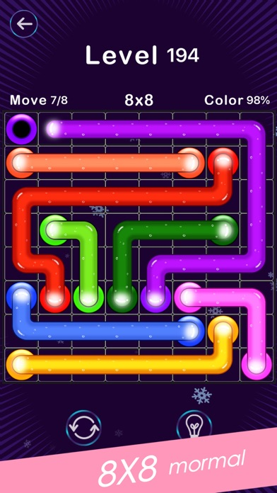 Screenshot for Color Line -Fill Block Puzzle in Saudi Arabia App Store