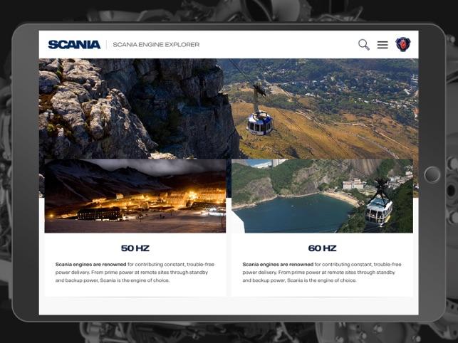Scania Engine Explorer on the App Store
