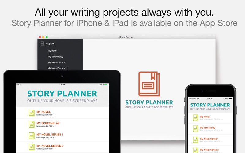 Story Planner for Writers app image