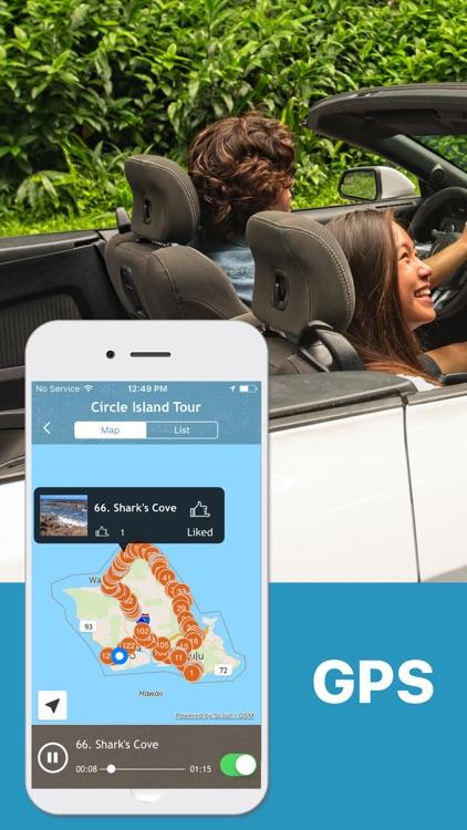 Oahu Driving Tour GPS Guide screenshot-0