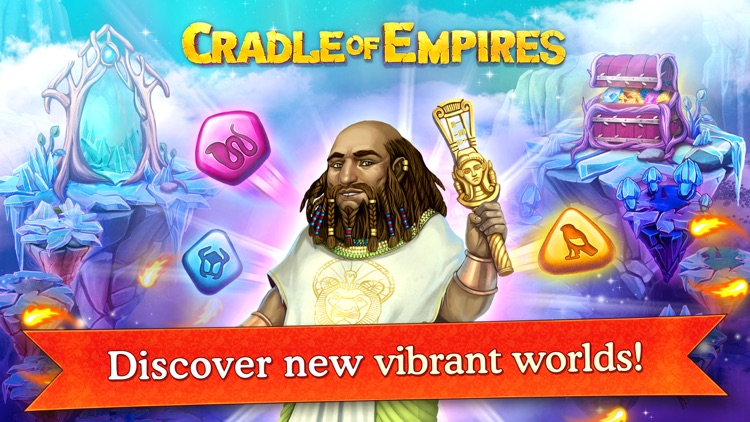 Cradle of Empires Match-3 Game screenshot-4