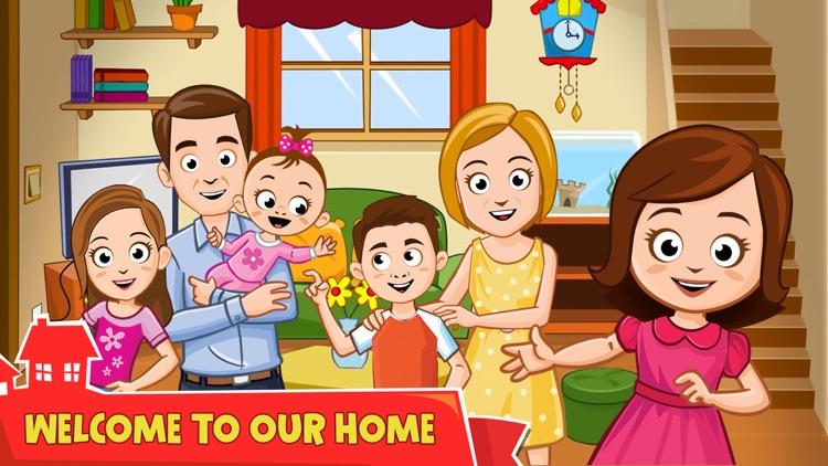 My Town : Home Doll House screenshot-0