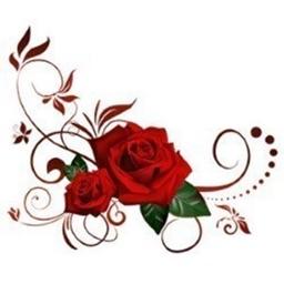 Rose Romantic Stickers