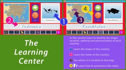 Asia - Montessori Geography screenshot 2