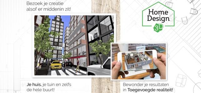 Kamer Inrichten 3.Home Design 3d In De App Store