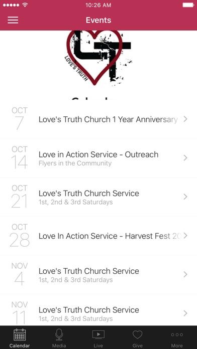 Love's Truth Church screenshot 1