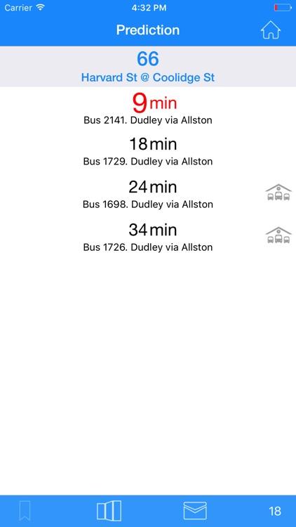 Where's my MBTA Bus? screenshot-3