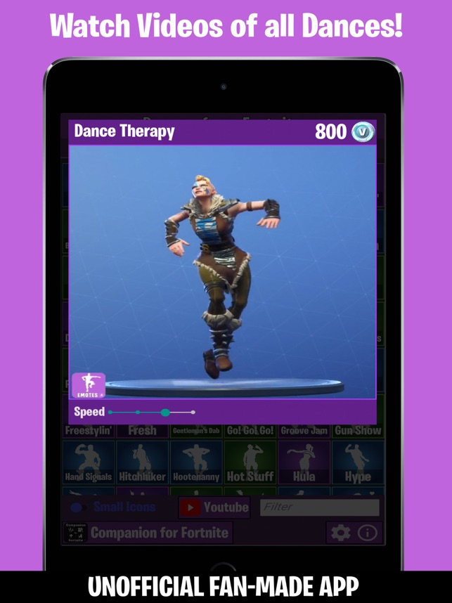 dances from fortnite on the app store - free dance fortnite