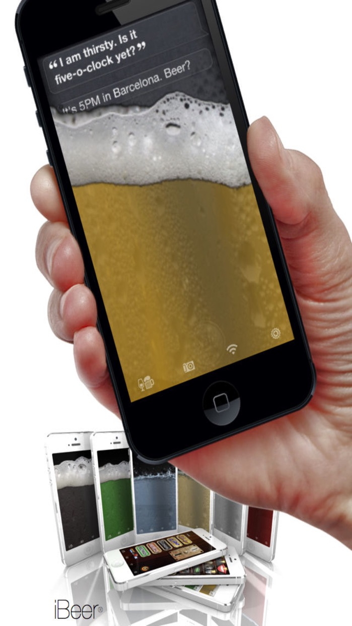 iBeer - Drink from your phone Screenshot