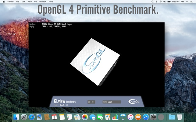 "17 thoughts on ""Overview of OpenGL Support on OS X"""
