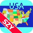 Map Solitaire USA by SZY icon