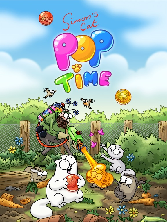 Игра Simon's Cat - Pop Time