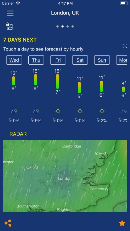 Accurate Weather forecast &map screenshot-8