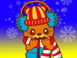 Make your chat amusing with cute Funny Bear Animated Sticker