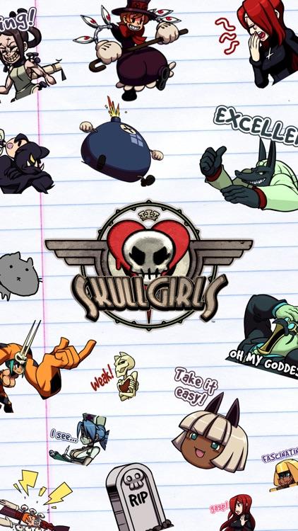 Skullgirls Stickers!