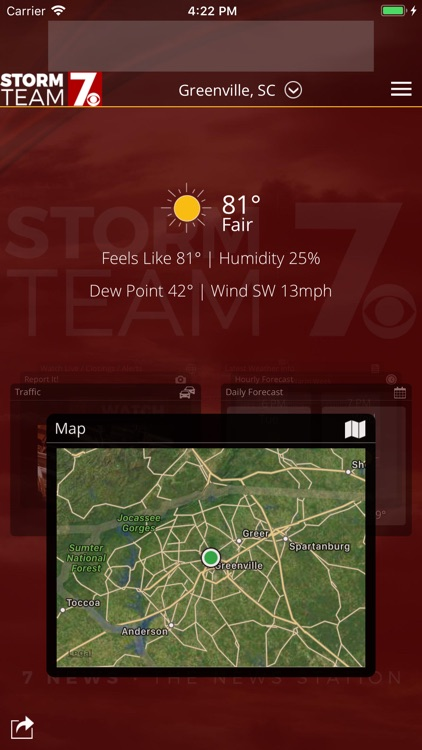 WSPA Weather screenshot-0