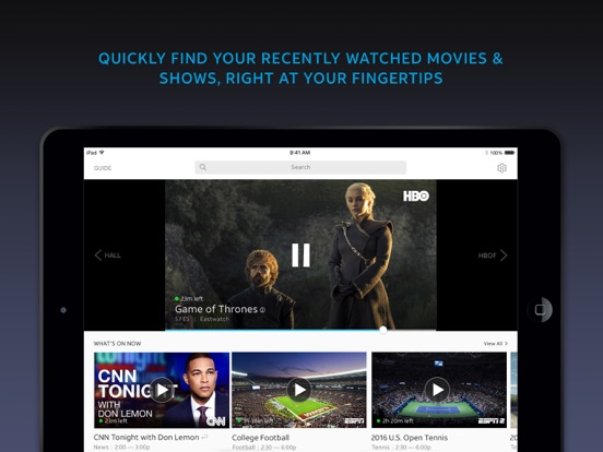 DIRECTV NOW Screenshots