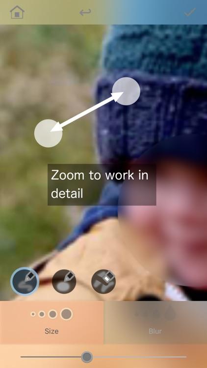 Bokasoon - Blur Background & Hide Face with  Blur screenshot-4