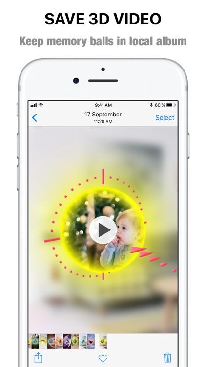 Rememball-AR video memory ball screenshot-5