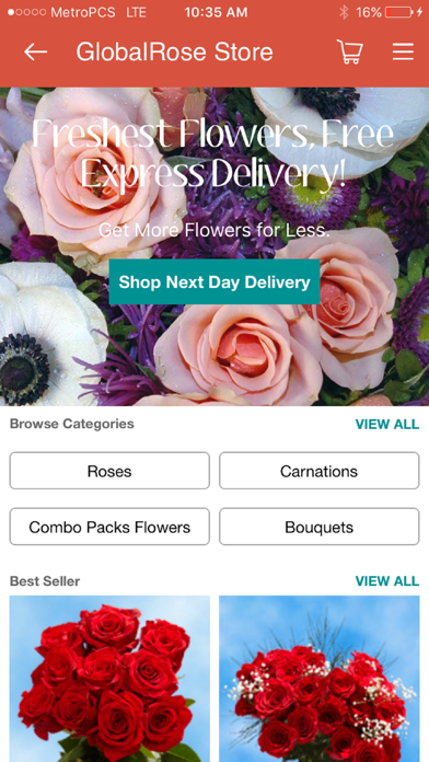 GlobalRose Flowers Delivery screenshot two