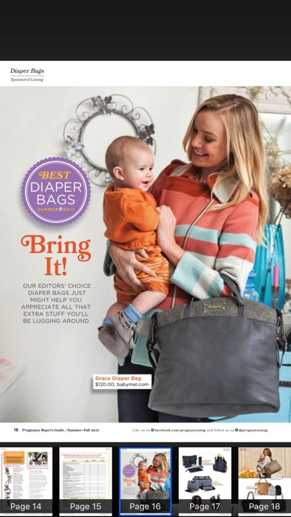 Pregnancy Magazine HD screenshot-3