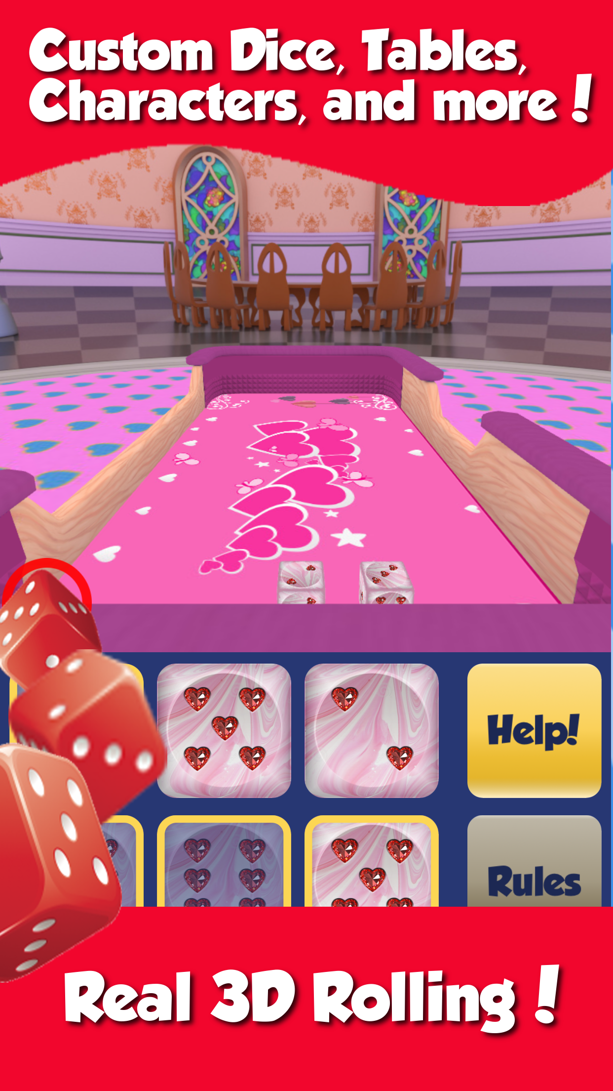 Dice World - Fun Family Games Screenshot