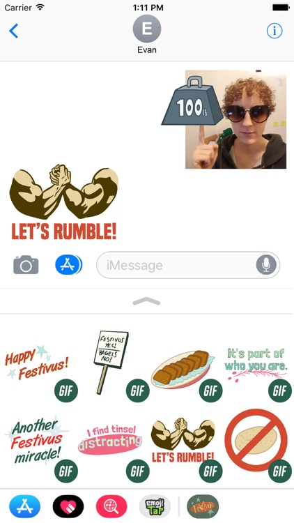 Seinfeld Festivus Stickers screenshot-1