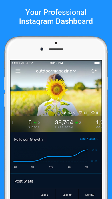 download Followers + EA - Analytics for Instagram apps 4
