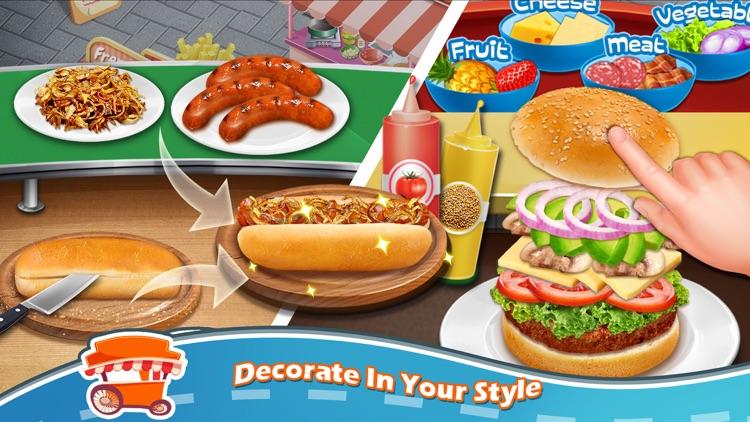 Street Food Fun Cooking Games screenshot-3