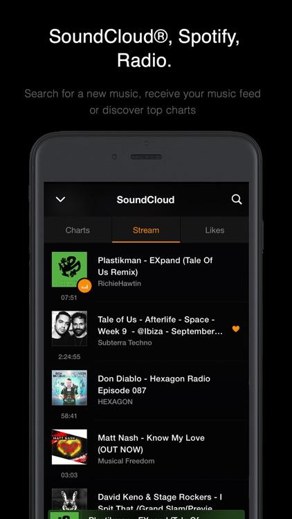 VOX: MP3 & FLAC Music Player screenshot-3