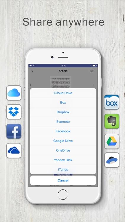 PDF Scanner app by FineScanner screenshot-4