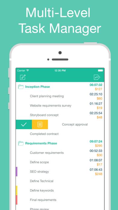 Chrono Plus – Time Trackerのおすすめ画像1