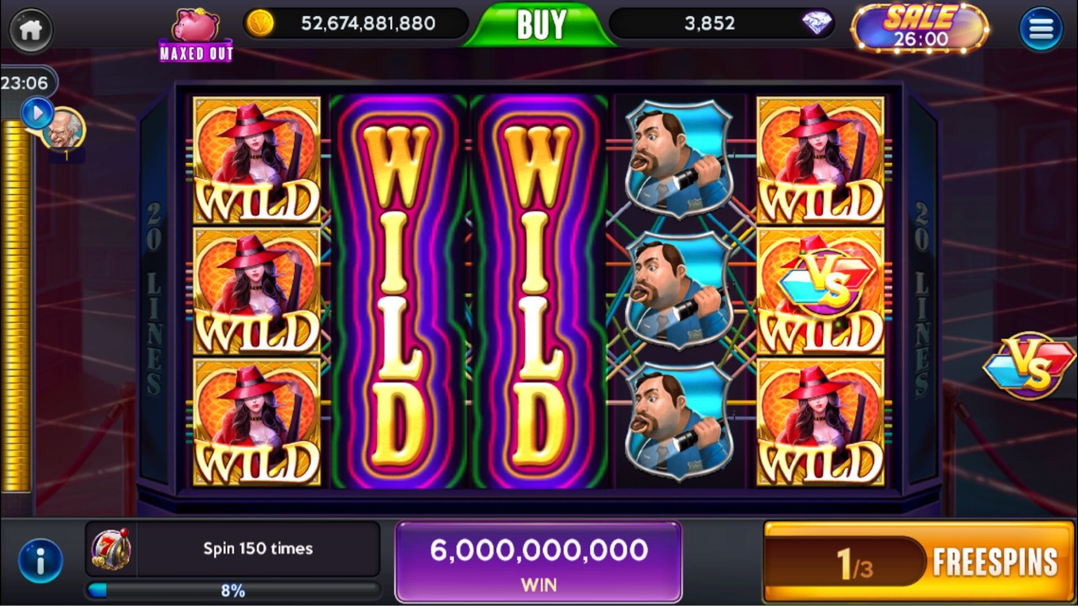 Vegas Nights Slots Screenshot
